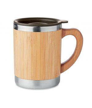 cana din bambus personalizata mokka