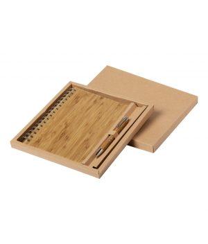 notes personalizat din bambus hecan